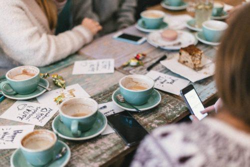 Café de rentrée à Sadyba